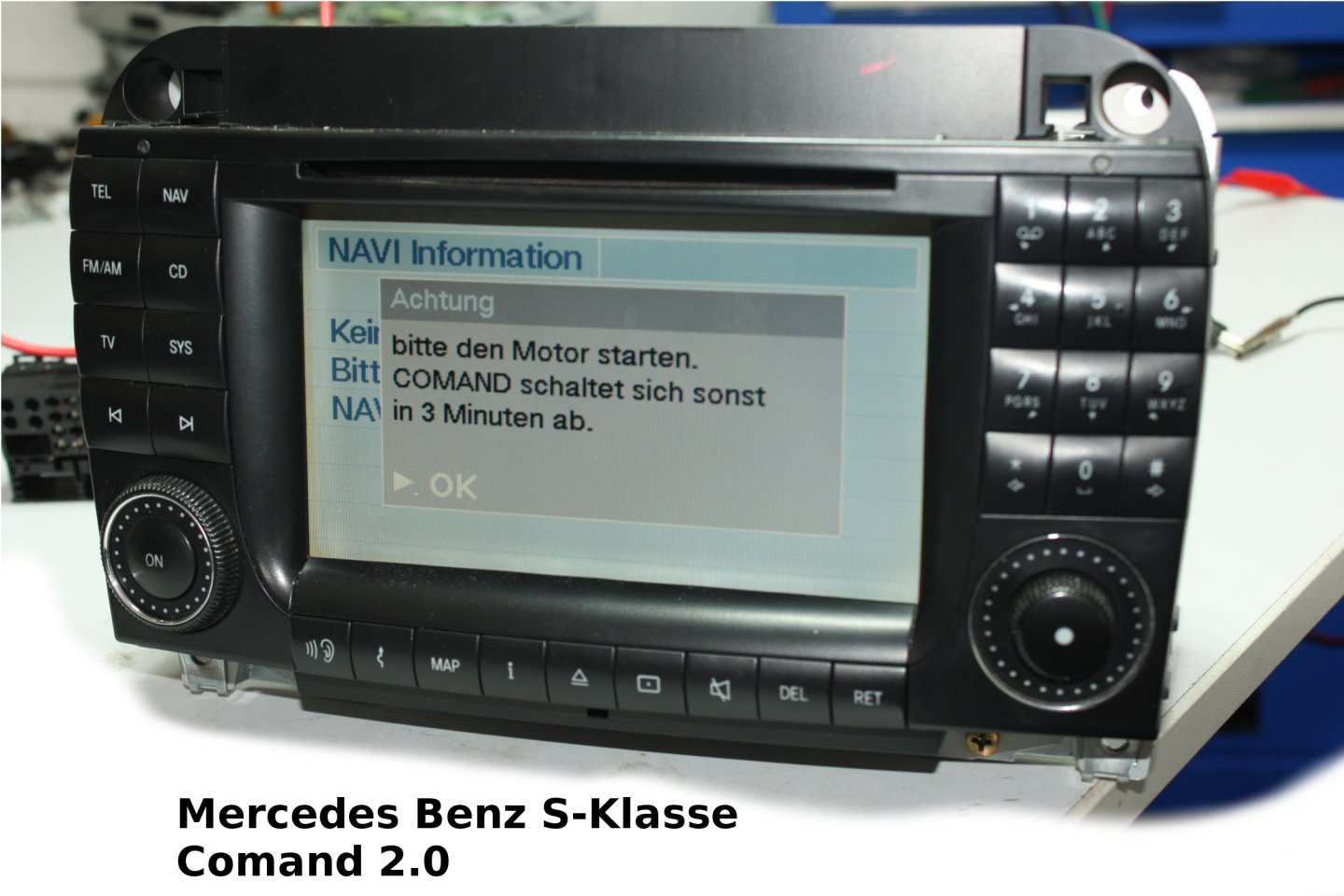 Mercedes Benz S-Klasse Navigation BP7